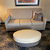 Embassy Suites Knoxville West sofa & ottoman