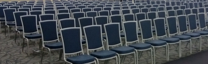Aluminum Stacking Chairs